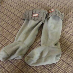 Beige Hunter Boot Socks
